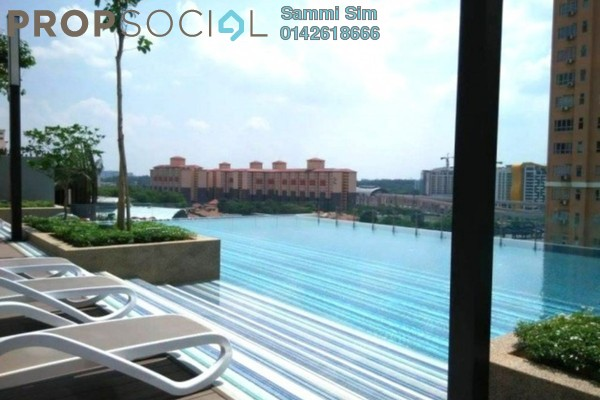 Serviced Residence For Sale in Eve Suite, Ara Damansara Freehold Fully Furnished 0R/1B 545k
