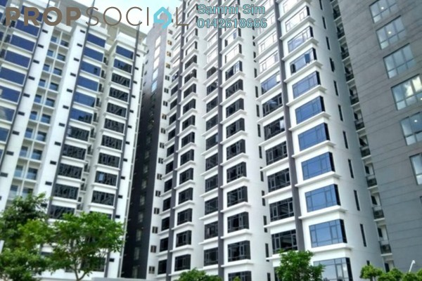 Serviced Residence For Sale in Eve Suite, Ara Damansara Freehold Fully Furnished 0R/1B 530k