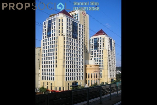 Apartment For Rent in Amcorp Serviced Suites, Petaling Jaya Leasehold Fully Furnished 0R/1B 1.7k