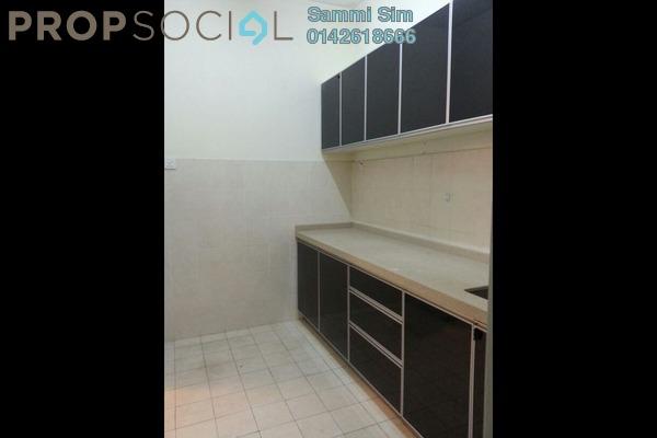 Apartment For Rent in Baiduri Courts, Bandar Bukit Puchong Freehold Semi Furnished 3R/2B 1.1k