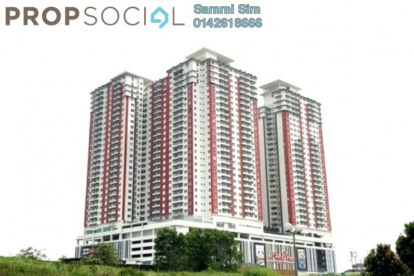 Serviced Residence For Rent in Main Place Residence, UEP Subang Jaya Freehold Semi Furnished 3R/2B 1.8k