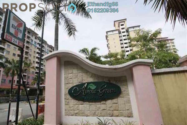 Apartment For Rent in Arena Green, Bukit Jalil Freehold Unfurnished 3R/2B 1.2k