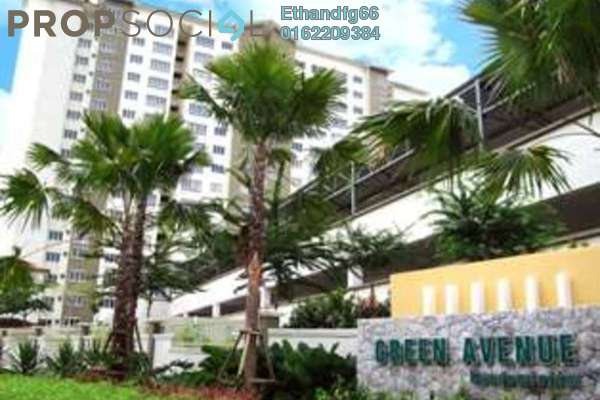 Condominium For Rent in Green Avenue, Bukit Jalil Freehold Semi Furnished 4R/2B 1.5k