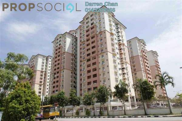 Apartment For Rent in Jalil Damai, Bukit Jalil Freehold Fully Furnished 3R/2B 1.4k