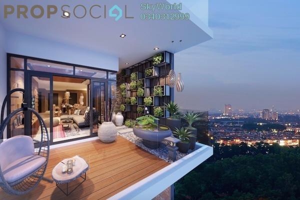 Condominium For Sale in Bennington Residences, Setapak Leasehold semi_furnished 3R/2B 613k