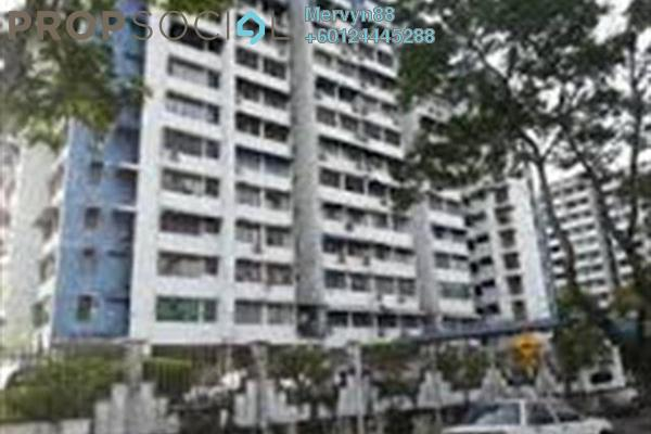 For Sale Apartment at Desa Cantik, Air Itam Freehold Semi Furnished 3R/2B 255k