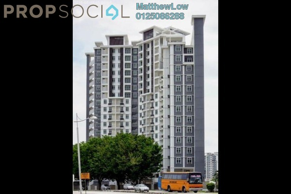 Condominium For Rent in Tunas Residensi, Bayan Baru Freehold Unfurnished 3R/2B 1k