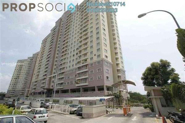 Apartment For Rent in Juta Mines, Seri Kembangan Leasehold Fully Furnished 3R/2B 1.2k