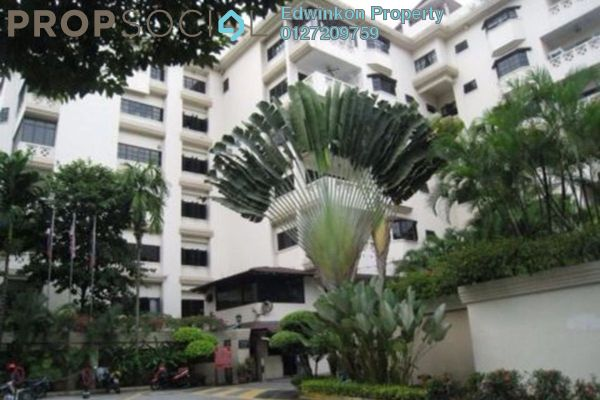 Condominium For Sale in Belvedere, Kenny Hills Leasehold Semi Furnished 4R/4B 1.38m