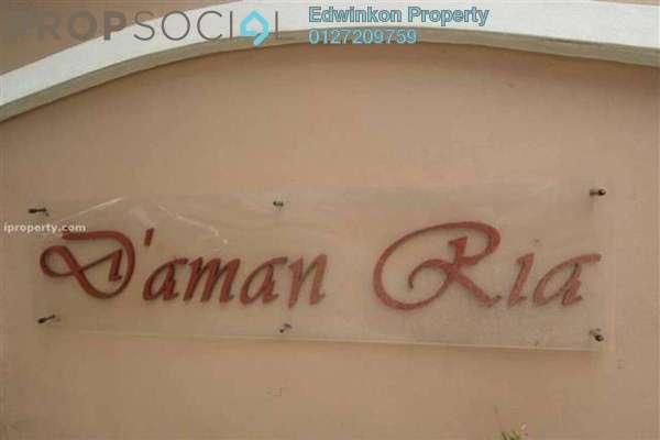 Condominium For Rent in D'Aman Ria, Ara Damansara Freehold Semi Furnished 3R/2B 1.3k