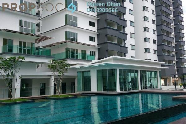 Condominium For Rent in Tiara ParkHomes, Kajang Freehold Semi Furnished 4R/3B 1.4k