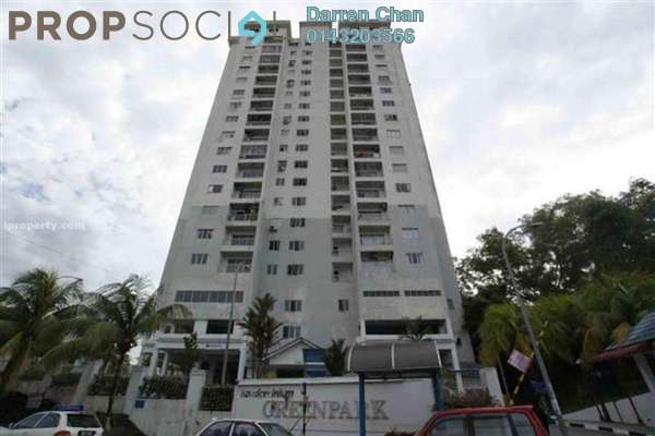 Condominium For Rent in Greenpark, Old Klang Road Freehold Semi Furnished 3R/2B 1.4k