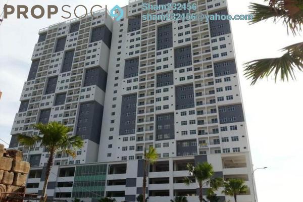 Condominium For Rent in Pinang Laguna, Seberang Jaya Freehold Unfurnished 3R/2B 1.2k