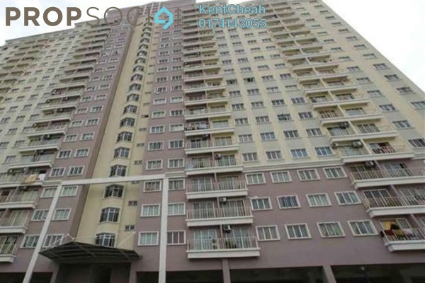 Apartment For Sale in Juta Mines, Seri Kembangan Leasehold Unfurnished 3R/2B 270k
