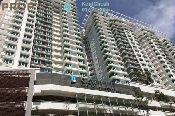 For Sale Condominium at Saville, Melawati Freehold Unfurnished 3R/2B 530k