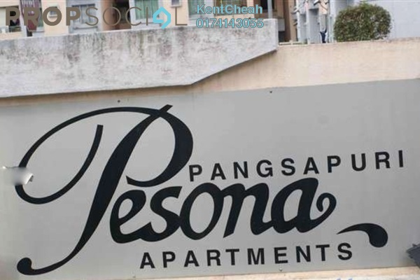Apartment For Sale in Pesona Apartment, Kajang Freehold Unfurnished 3R/2B 200k