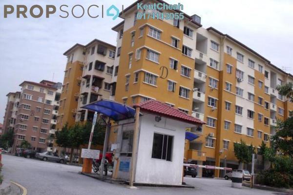Apartment For Sale in Tainia Apartment, Kota Damansara Leasehold Unfurnished 3R/2B 320k