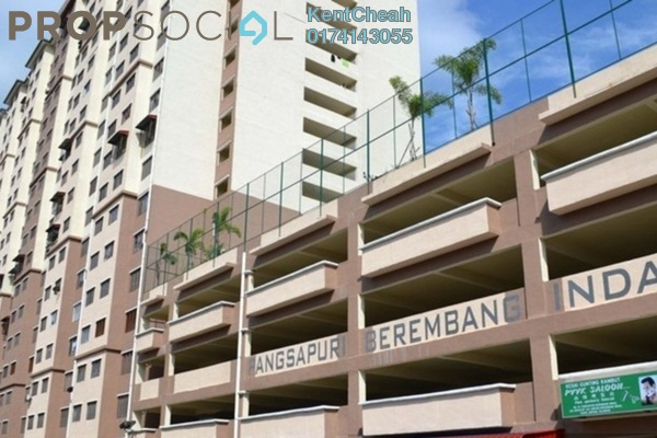 Apartment For Sale in Kampung Berembang, Ampang Hilir Freehold Unfurnished 3R/2B 240k
