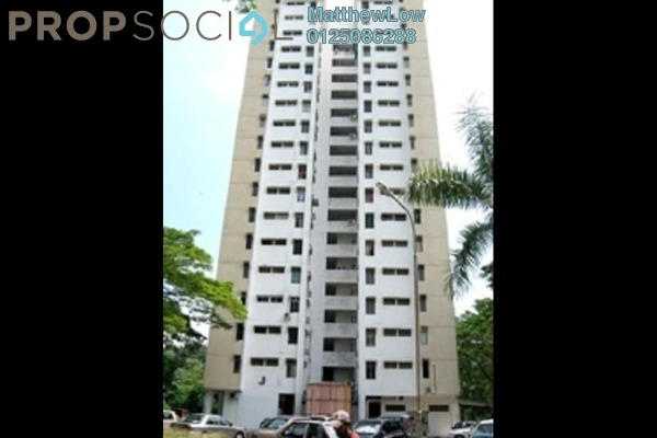 Condominium For Sale in Taman Bukit Jambul, Bukit Jambul Freehold Unfurnished 3R/2B 260k