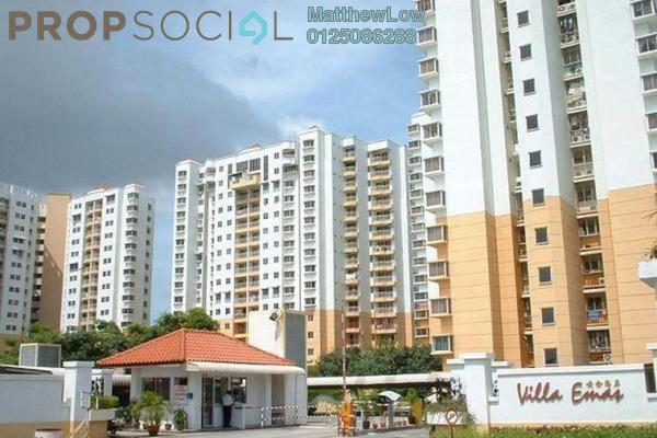 Condominium For Rent in Villa Emas, Bayan Indah Leasehold Unfurnished 3R/2B 1.5k