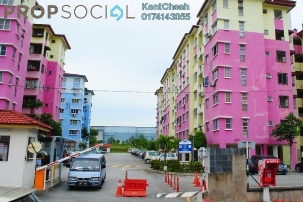 Apartment For Sale in Salvia Apartment, Kota Damansara Leasehold Unfurnished 3R/2B 290k
