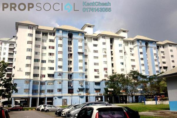 Apartment For Sale in Tasik Heights Apartment, Bandar Tasik Selatan Leasehold Unfurnished 3R/2B 290k