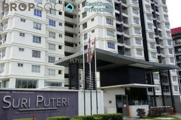 For Rent Condominium at Suri Puteri, Shah Alam Leasehold Fully Furnished 3R/2B 1.7k