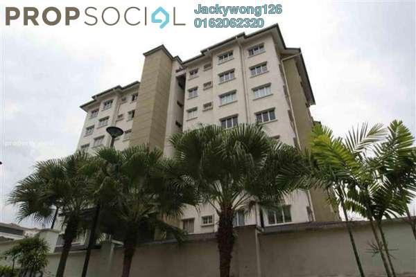 For Sale Condominium at Segar View, Cheras Freehold Semi Furnished 3R/2B 600k