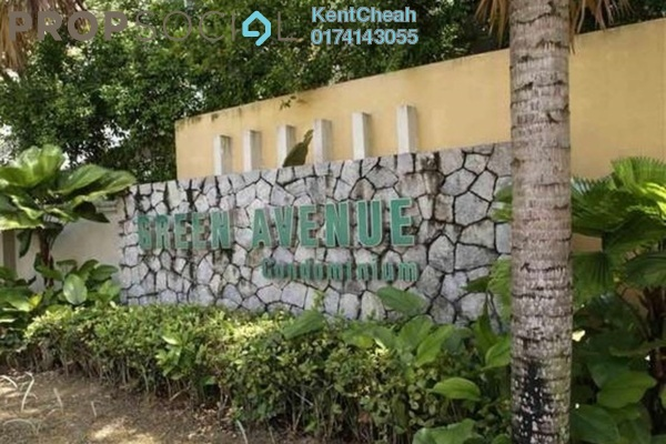 Condominium For Sale in Green Avenue, Bukit Jalil Freehold Unfurnished 3R/2B 490k