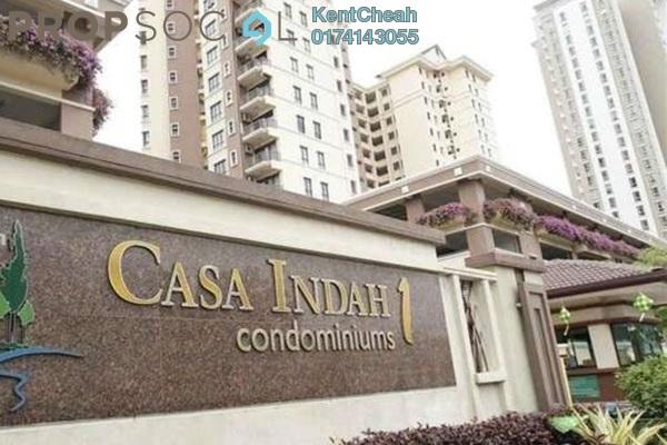 Condominium For Rent in Casa Indah 1, Tropicana Leasehold Semi Furnished 3R/3B 1.7k