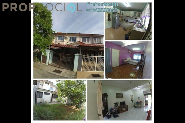 Terrace For Sale in Bandar Tasik Kesuma, Semenyih Freehold Unfurnished 4R/2B 330k