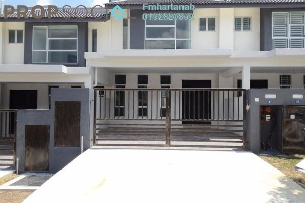 Terrace For Rent in Bangi Avenue, Kajang Freehold Semi Furnished 4R/4B 1.3k