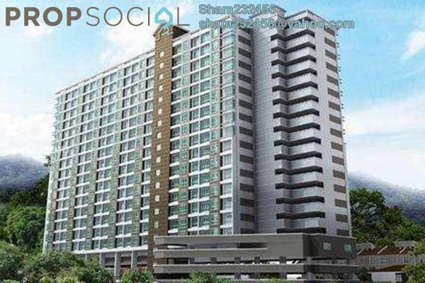 For Sale Apartment at Bukit Saujana, Paya Terubong Freehold Unfurnished 3R/2B 170k