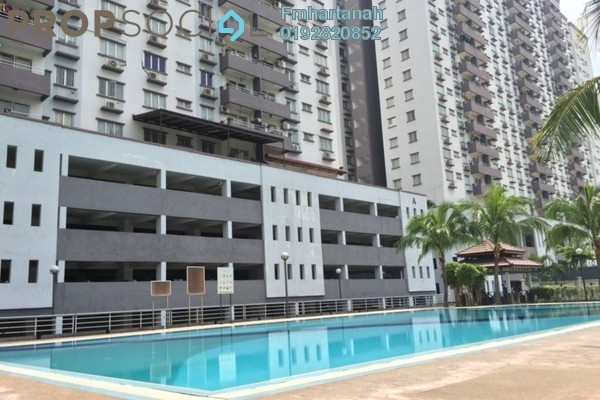 Condominium For Sale in Kinrara Mas, Bukit Jalil Freehold Unfurnished 3R/2B 430k