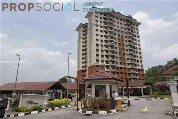 Apartment For Rent in Avilla, Bandar Puchong Jaya Freehold Semi Furnished 3R/2B 1.2k