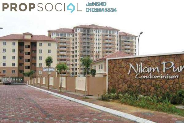 Condominium For Rent in Nilam Puri, Bandar Bukit Puchong Freehold Semi Furnished 3R/2B 1.1k
