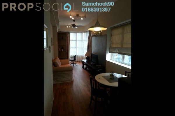 Condominium For Rent in Park View, KLCC Freehold Fully Furnished 0R/1B 2.3k