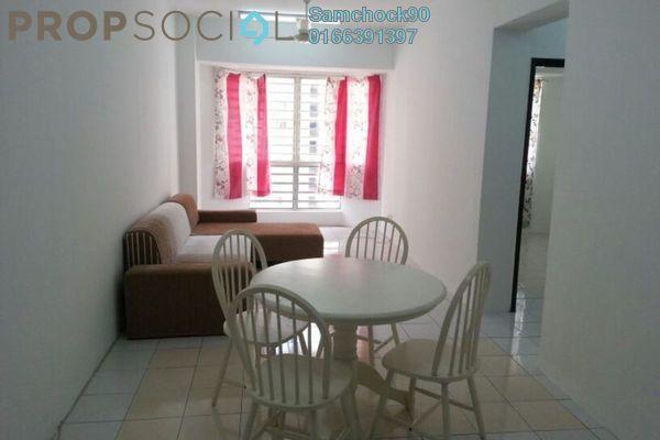 Condominium For Sale in Rhythm Avenue, UEP Subang Jaya Freehold Fully Furnished 2R/1B 350k