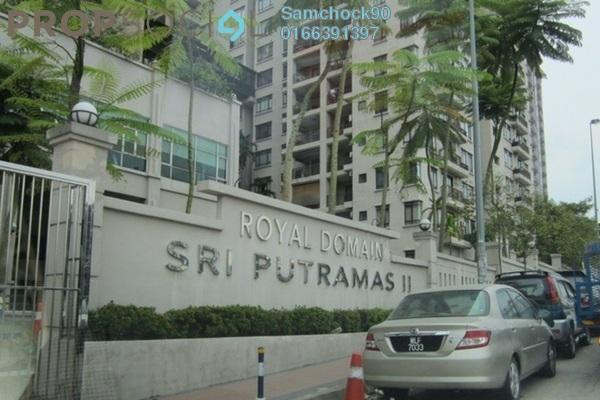 Condominium For Sale in Sri Putramas II, Dutamas Freehold Semi Furnished 3R/2B 650k