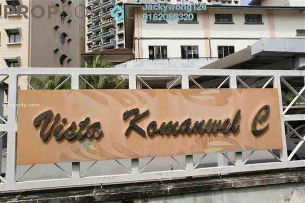 Condominium For Sale in Vista Komanwel, Bukit Jalil Freehold Semi Furnished 3R/2B 600k