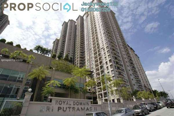 Condominium For Rent in Sri Putramas II, Dutamas Freehold Fully Furnished 3R/2B 1.9k