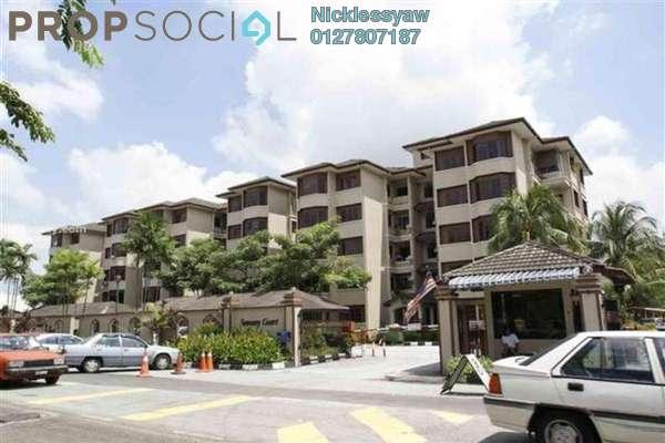 Condominium For Sale in Sunway Court, Bandar Sunway Leasehold Unfurnished 4R/2B 400k