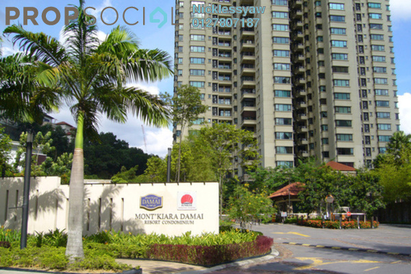 Condominium For Rent in Mont Kiara Damai, Mont Kiara Freehold Fully Furnished 4R/3B 6k
