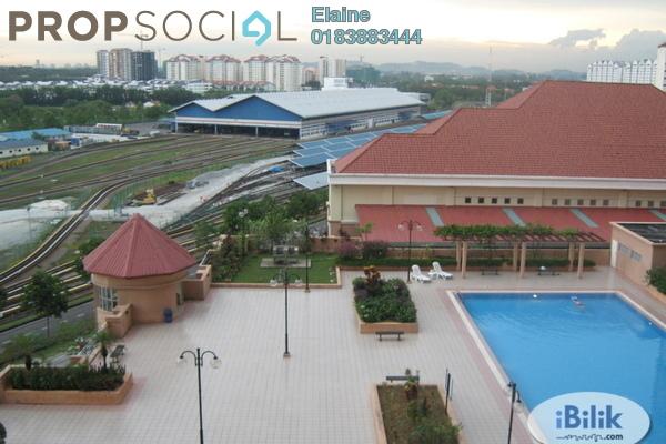 Apartment For Rent in D'Aman Ria, Ara Damansara Freehold Semi Furnished 3R/2B 1.45k