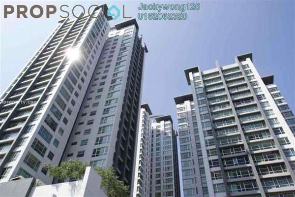 For Rent Condominium at The Saffron, Sentul Freehold Semi Furnished 4R/3B 2.8k