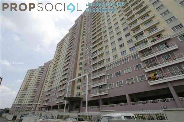 Condominium For Rent in Juta Mines, Seri Kembangan Leasehold Semi Furnished 3R/2B 1.1k