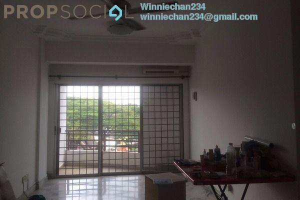 Apartment For Sale in Kestana Condominium, Bandar Menjalara Leasehold Semi Furnished 3R/2B 375k