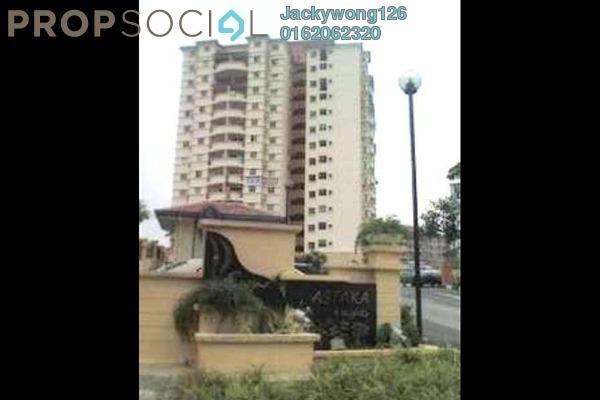 Condominium For Sale in Astaka Heights, Pandan Perdana Freehold Unfurnished 3R/2B 500k