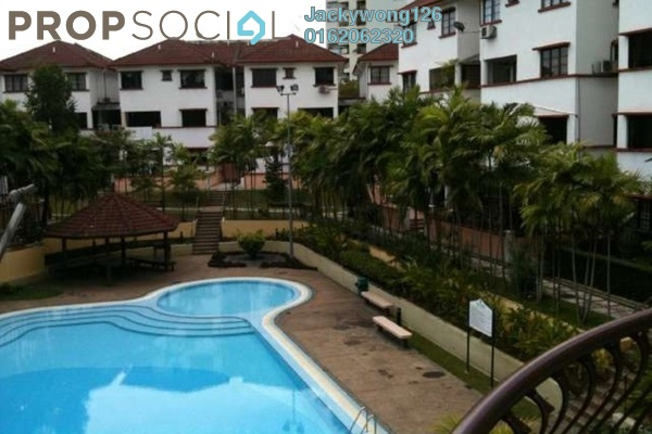 Condominium For Sale in Villa OUG, Old Klang Road Freehold Semi Furnished 3R/2B 520k