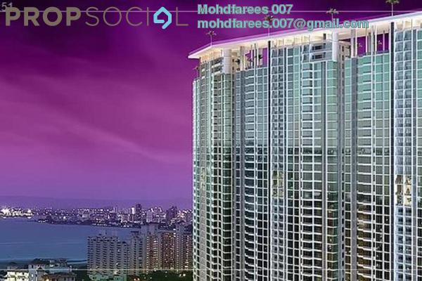Condominium For Rent in The Peak Residences, Tanjung Tokong Freehold Fully Furnished 3R/2B 1.5k